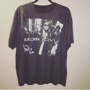 Vintage Brockum 90s Bon Jovi shirt band